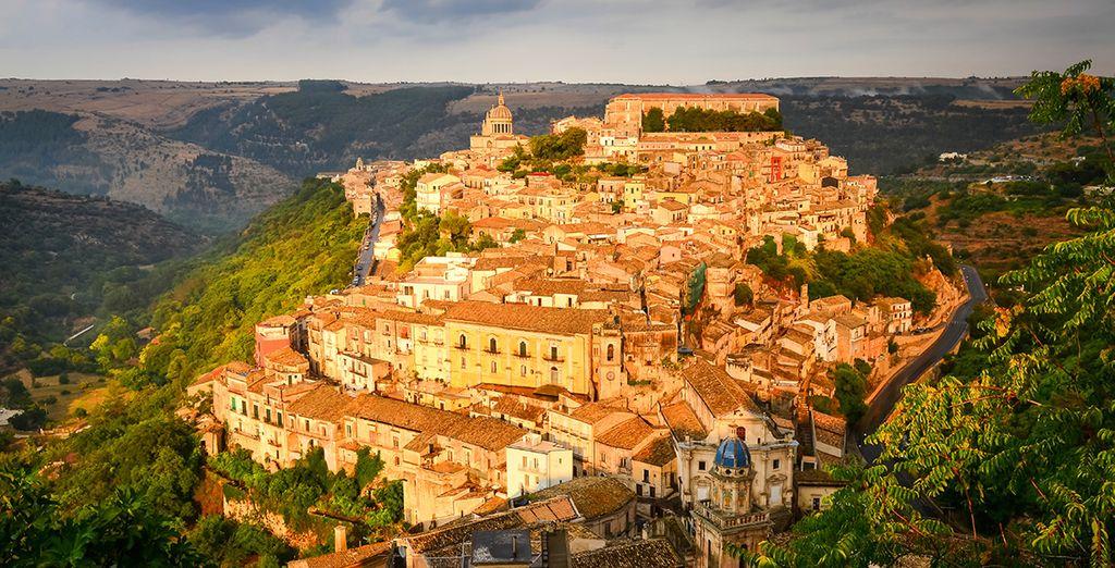 In beautiful Ragusa
