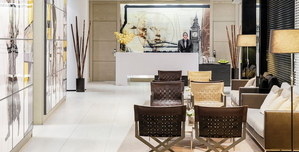 Meets eye-catching, vibrant design, in an ideal Central London location