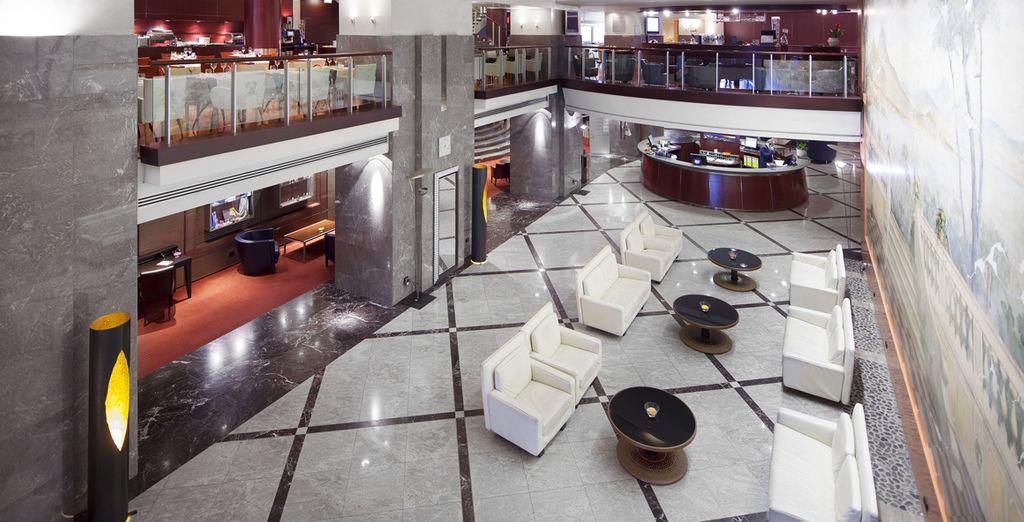 NH Ambassador 4* - modern hotel in Naples