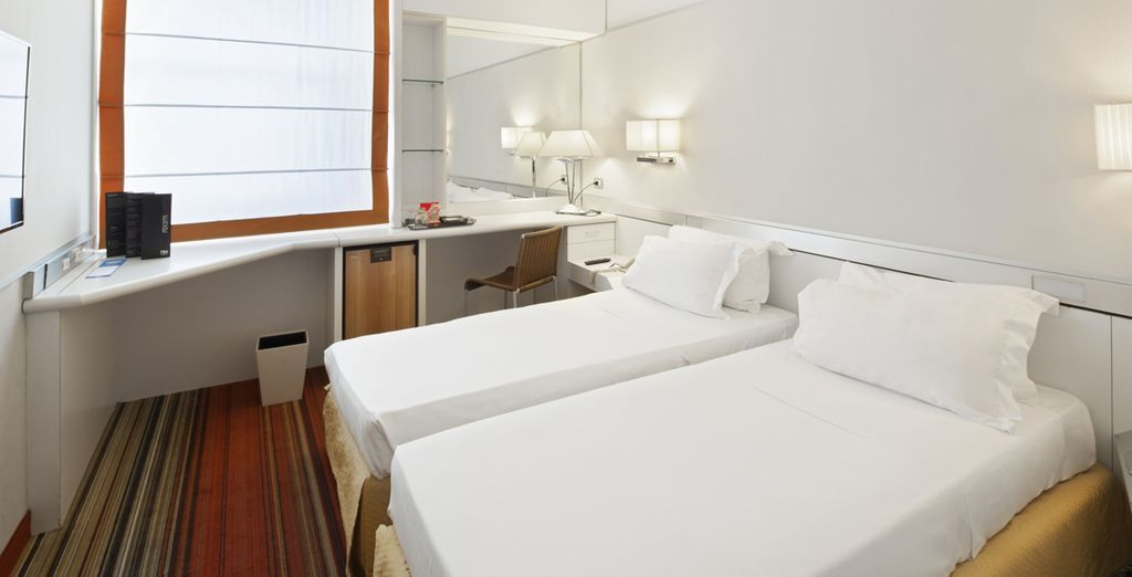 Where you can unwind in your Superior Room with Panoramic Views