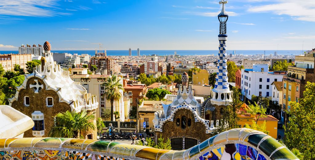 Bursting with colour, Barcelona is a feast for the eyes