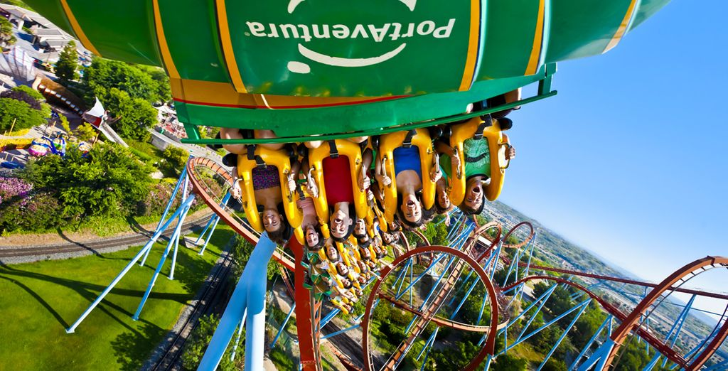 Home to one of Europe's largest theme parks, Port Aventura!