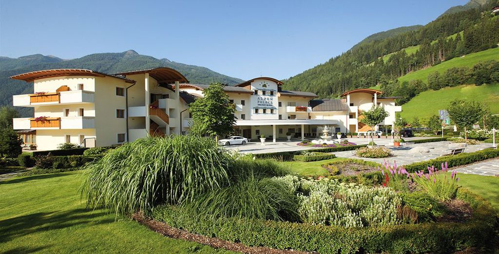 A resort located in an enchanting setting