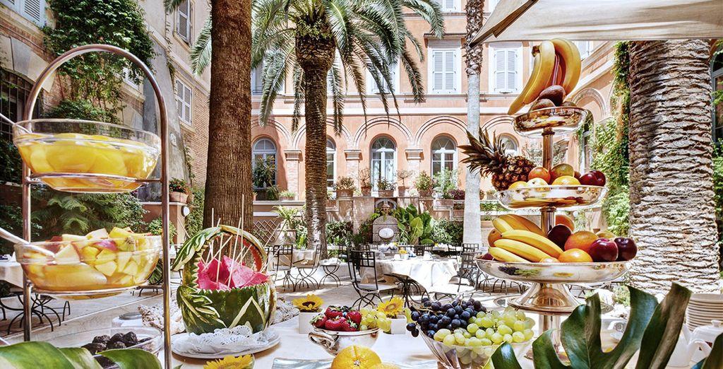 Enjoy a breakfast every morning