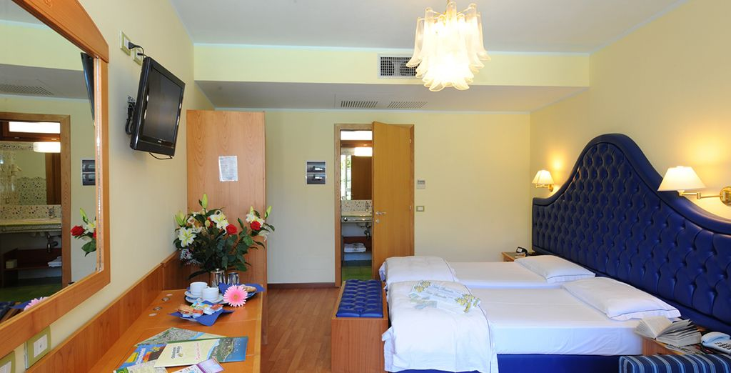 Relax in your cosy Superior Room