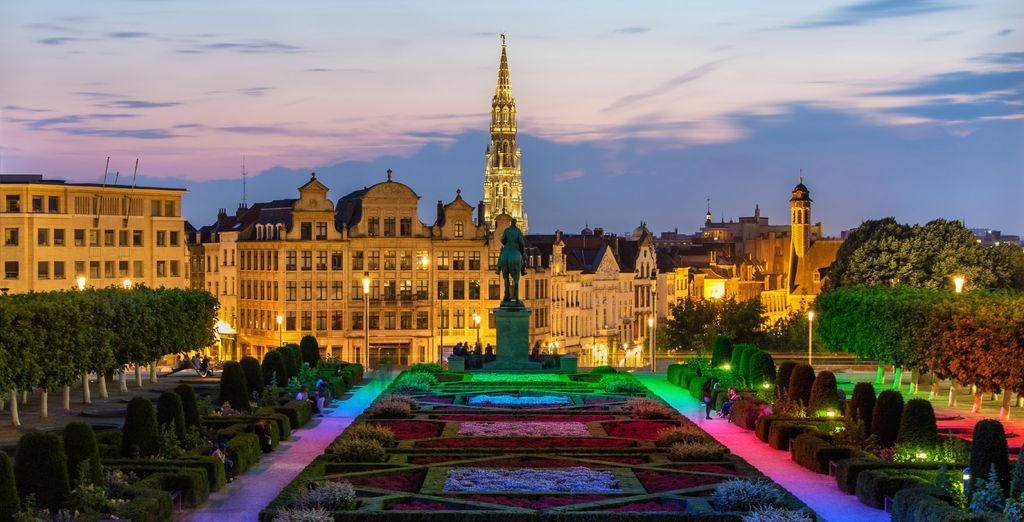 In the charming city of Brussels