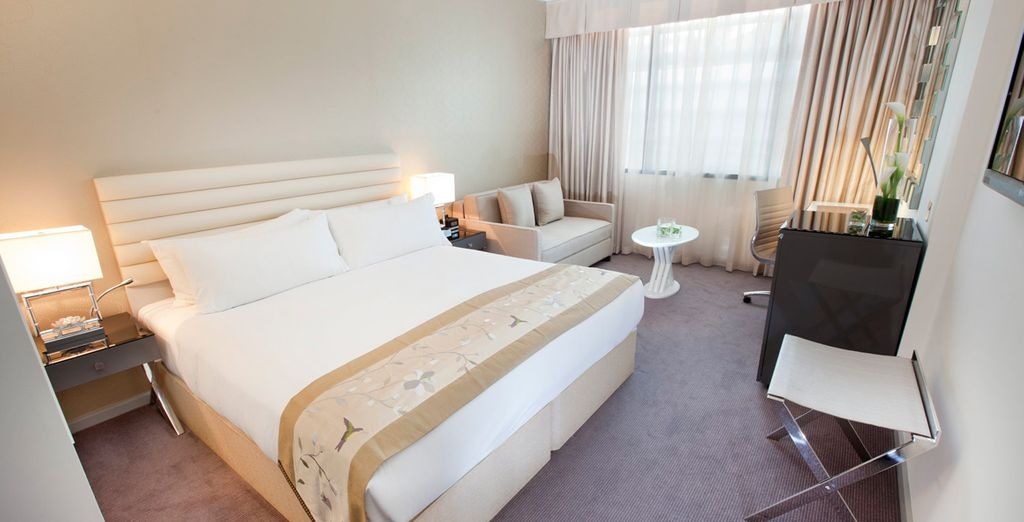 Or upgrade to an Executive Room