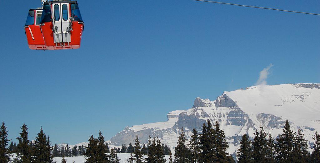 Enjoy adrenaline filled days on the slopes....