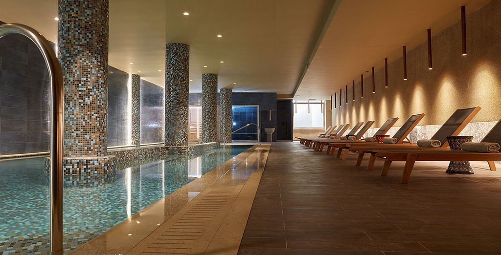 Or at the spa