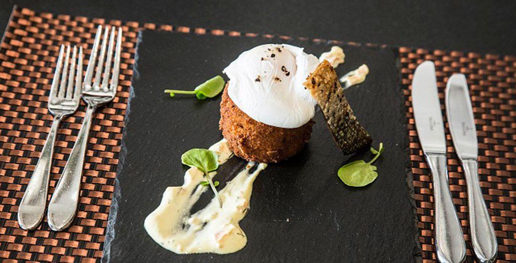 An AA rosette awarded restaurant