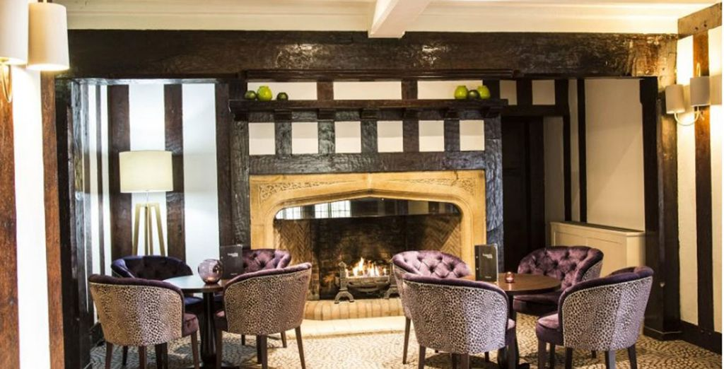 Promising a cosy atmosphere