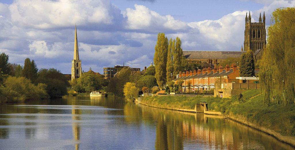 Beautiful scenery awaits in Worcestershire...