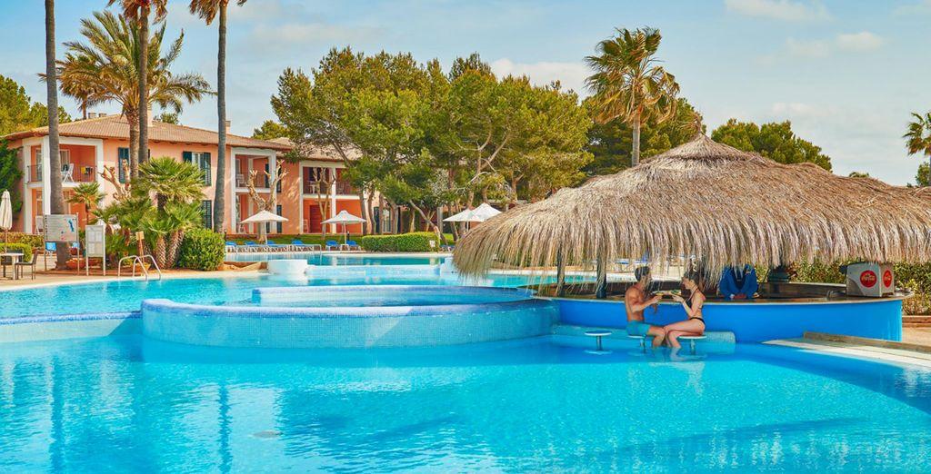 Take a dip in the pool...