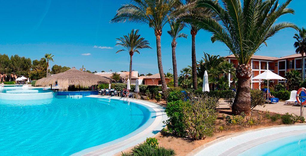Welcome to the Blau Colonia Sant Jordi Resort & Spa 4 *