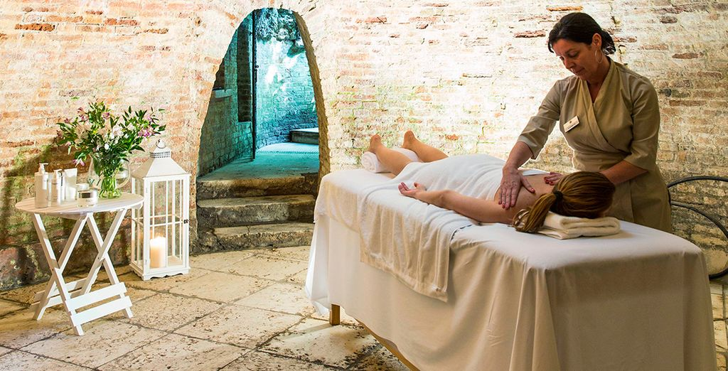 Relax with a massage after sightseeing