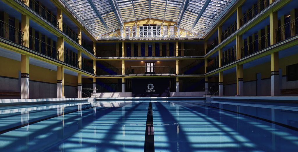 The hotel's brilliant facilities include an indoor pool
