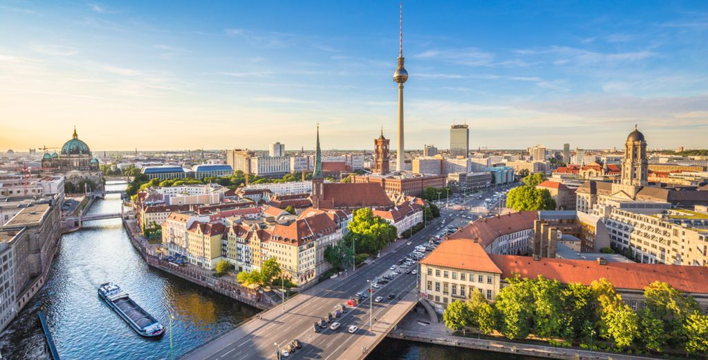 Right in the heart of historical Berlin