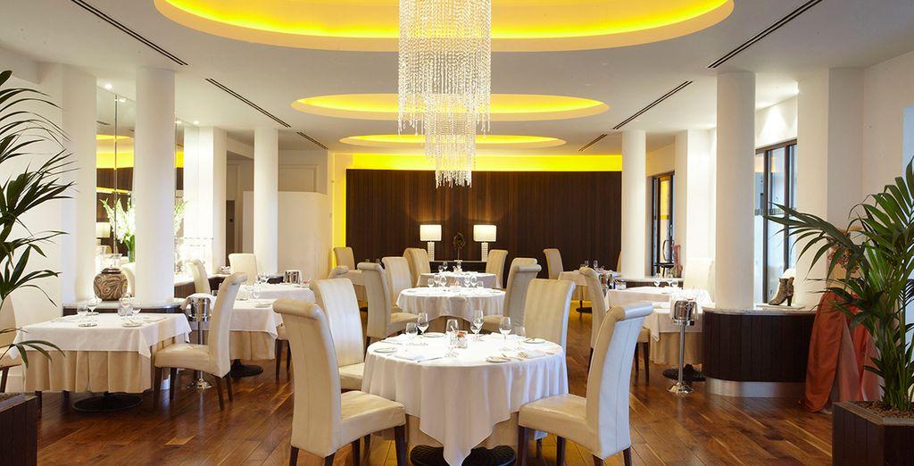 ...the effortlessly elegant TerryM Restaurant...