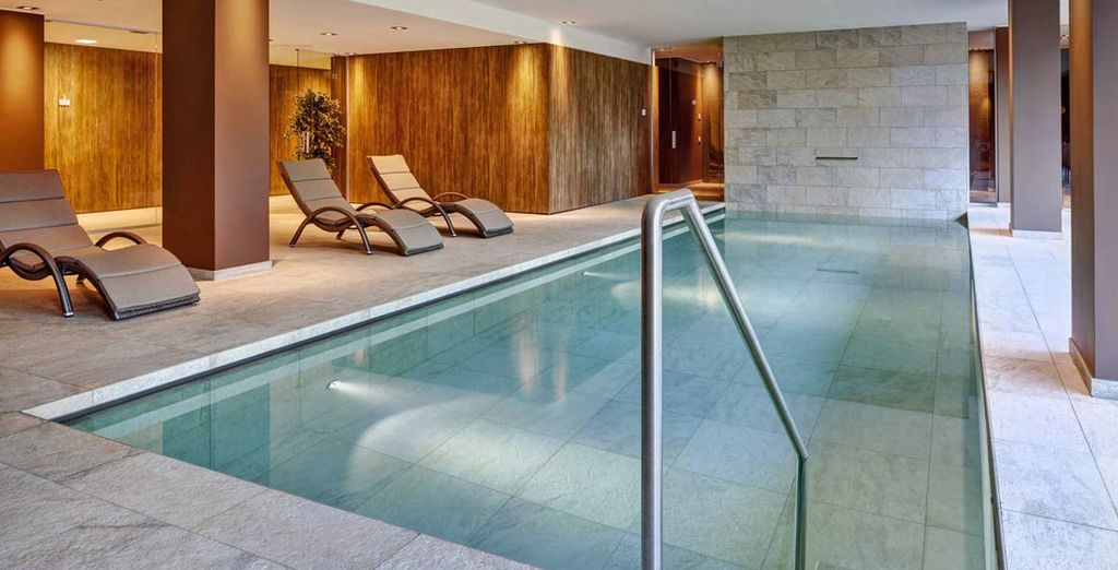 And unwind in the heated indoor pool