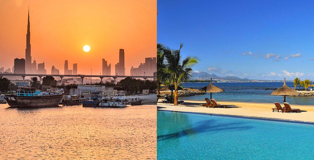 Discover dazzling Dubai and beautiful Mauritius on this twin centre trip
