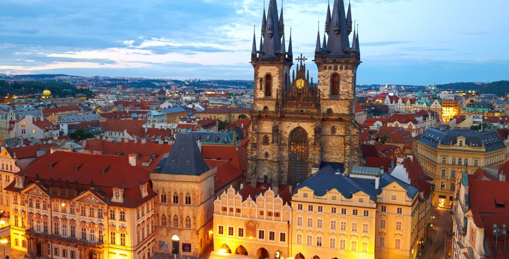 Explore Prague and its striking attractions