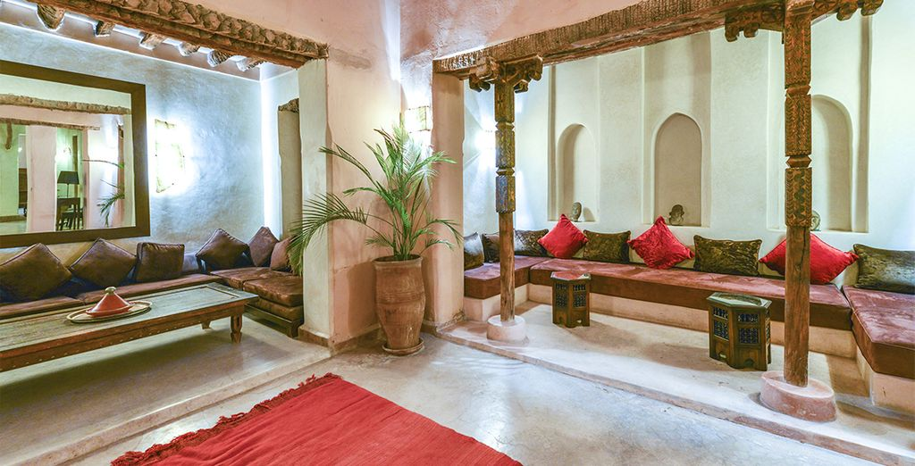 A boutique riad away from the bustle of the souks