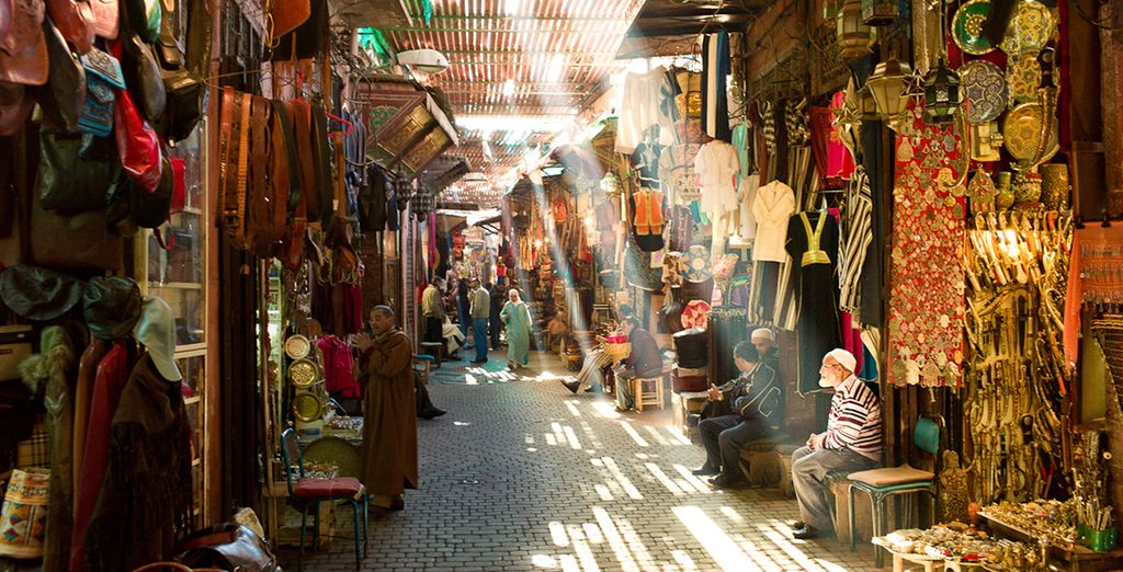Where you can wander through the famous market in search of bargains