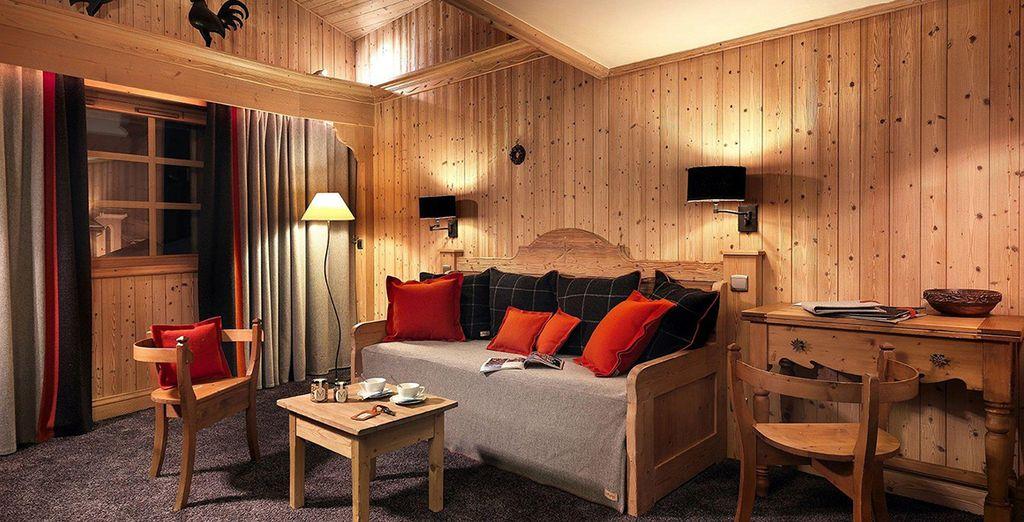 Or a spacious Junior Suite