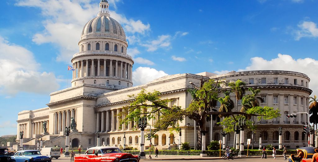Explore historic Havana...