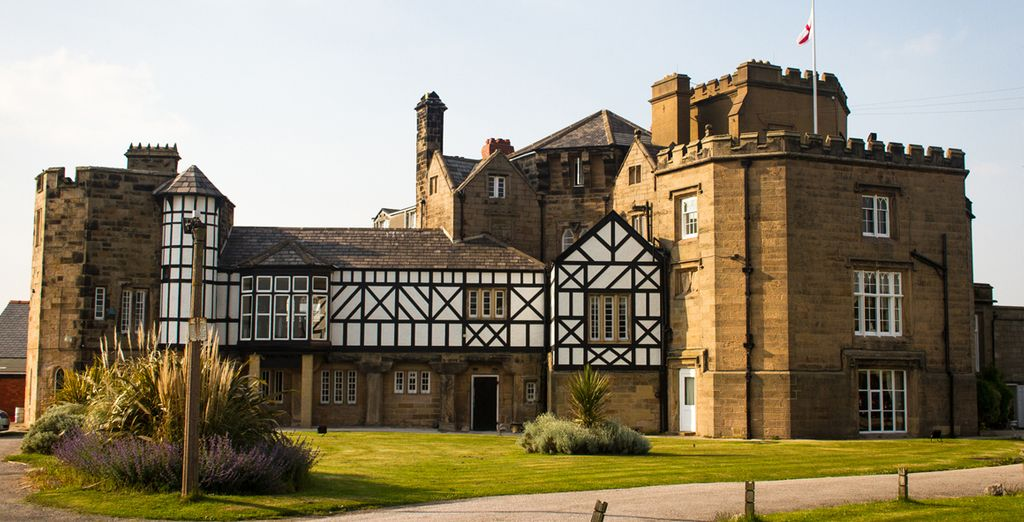 Leasowe Castle 4* is a 16th century former residence with modern charms