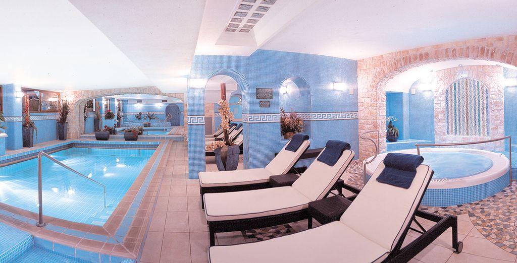 A wellness and spa resort