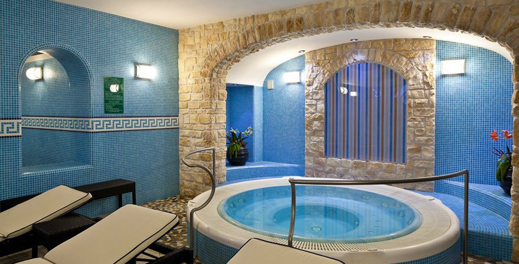 So relax in the healing thermal waters....
