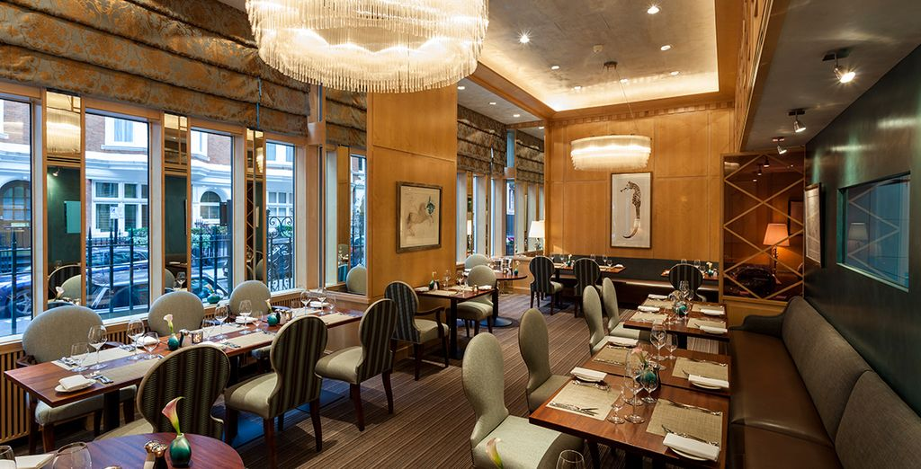 Treat yourself to a Michelin starred experience