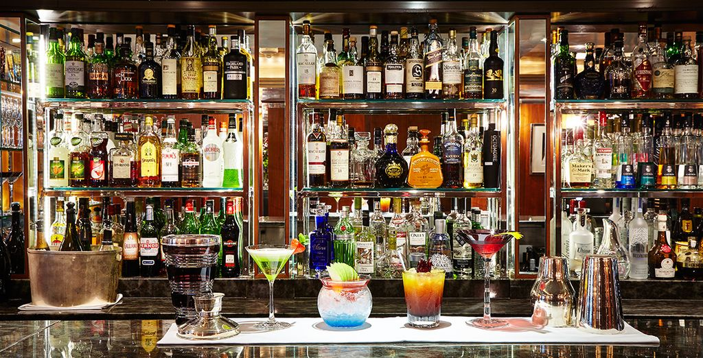 The Capital Bar is the perfect place to relax in after sightseeing