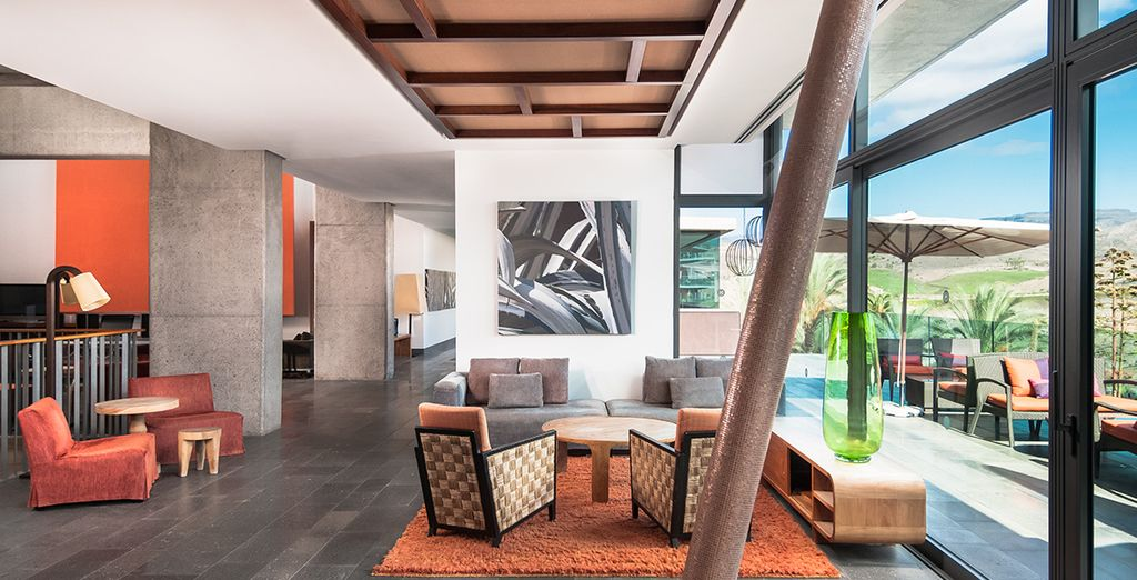 The Sheraton Salobre is a stylish, modern resort