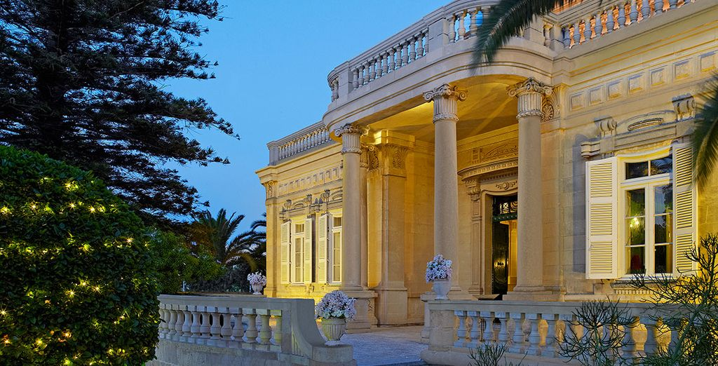 Welcome to the 5* Corinthia Palace Hotel & Spa