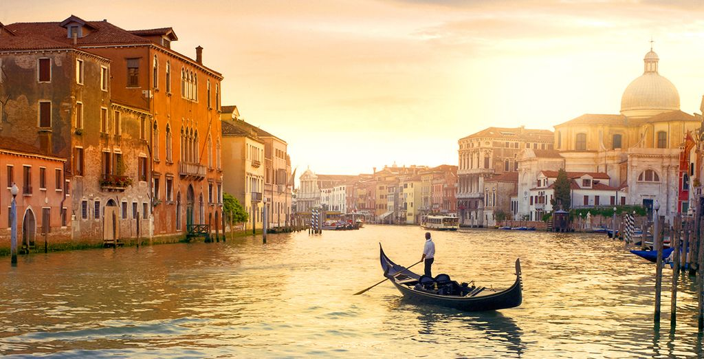 The romantic beauty of Venice is just 45km away