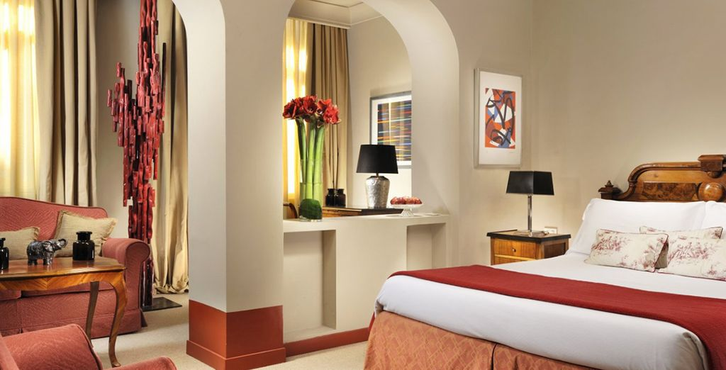 Our members can enjoy a spacious Deluxe Room