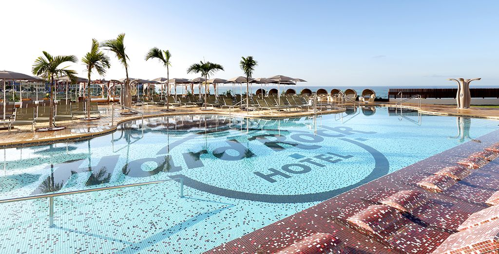 Soak up the sunshine by one of the 3 pools....