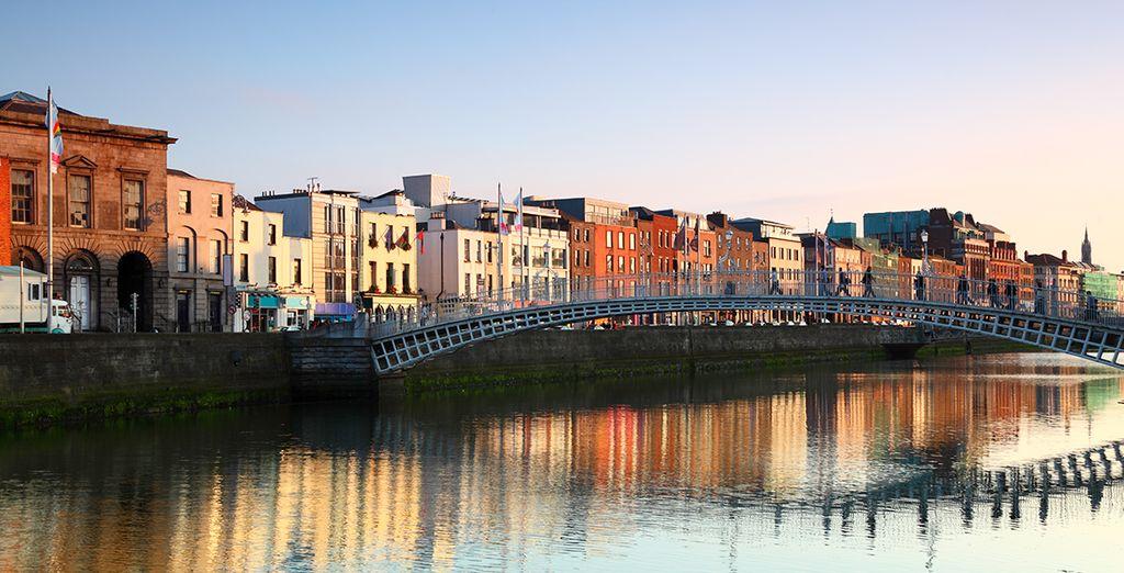 Enjoy the old world charm of Dublin