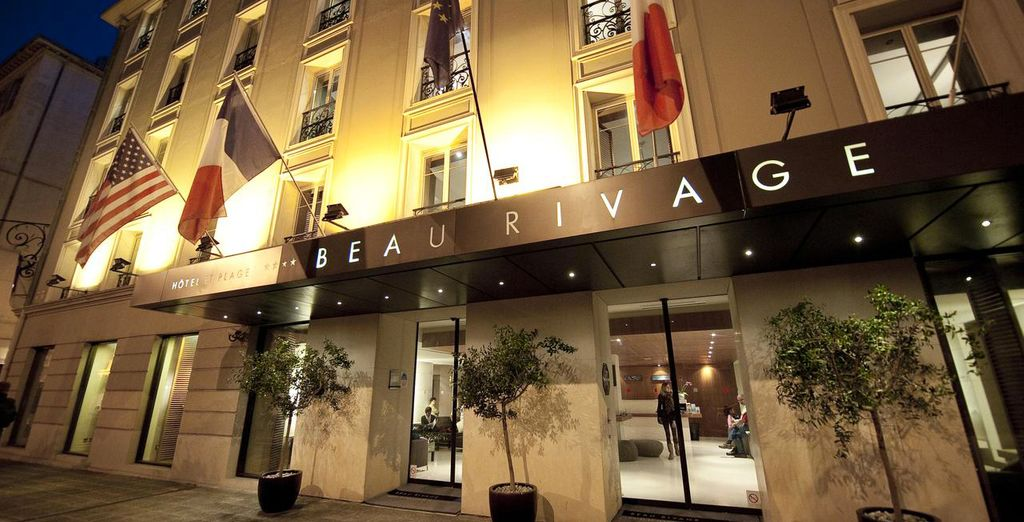Step into Hotel Beau Rivage 4*
