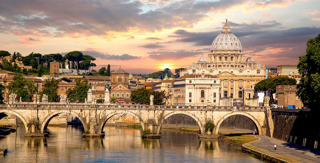In the heart of the Eternal City