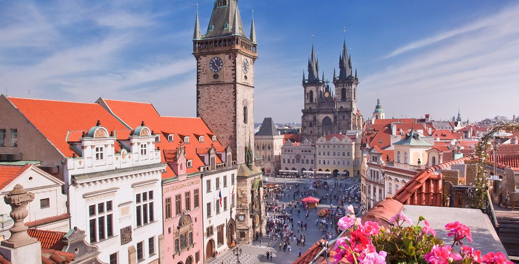 In the fairy tale city of Prague