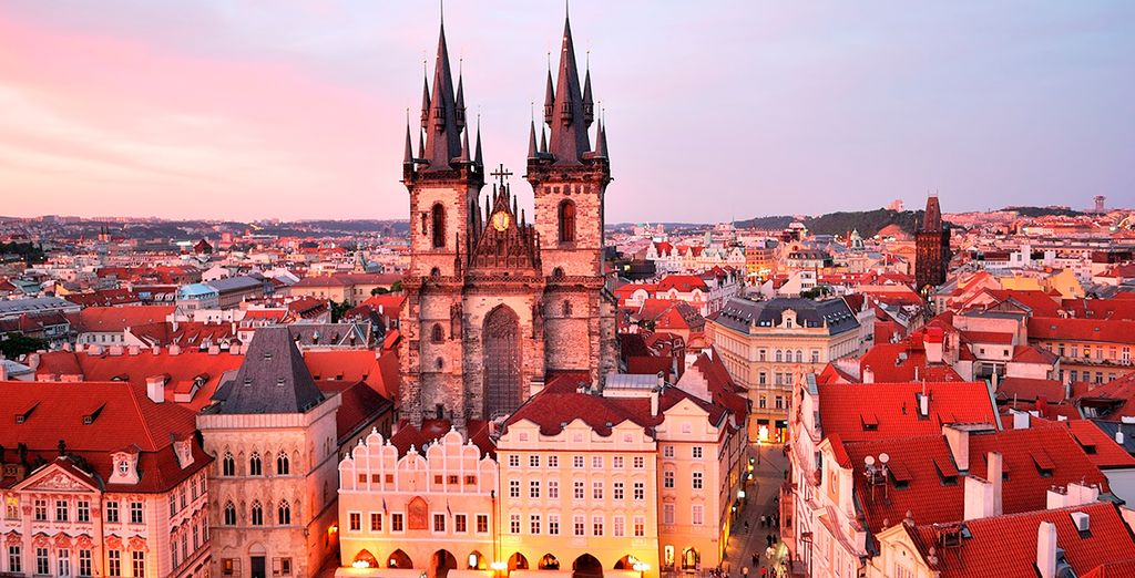 Prague is a joy to visit in any season