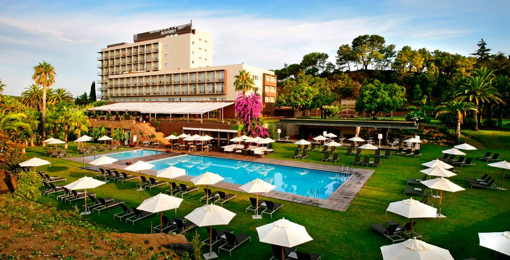 Whilst staying at the 5* Gran Hotel Monterrey