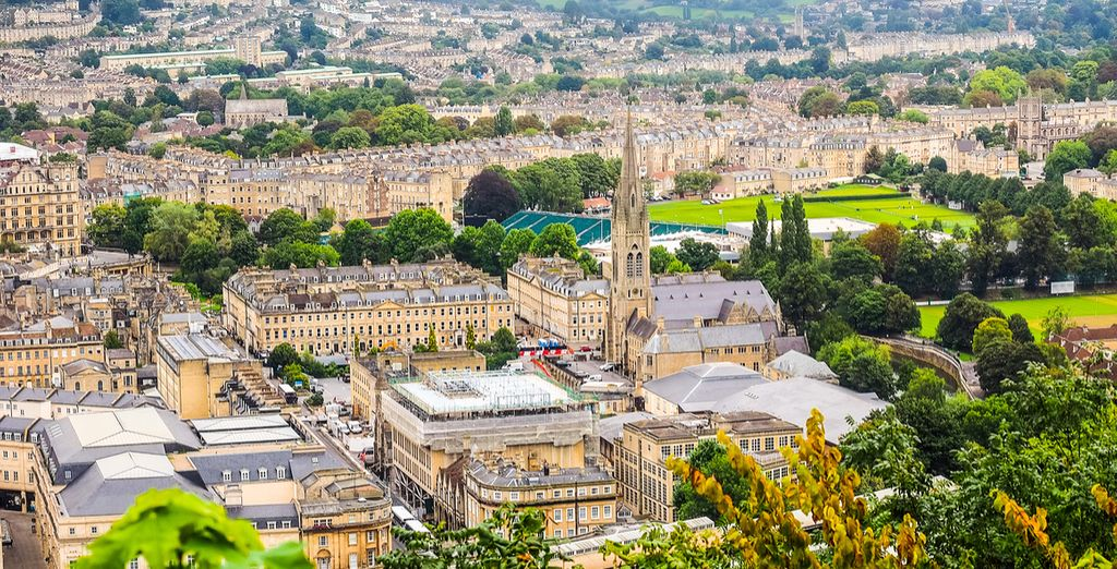 Book your hotel in Bath, England with Voyage Privé