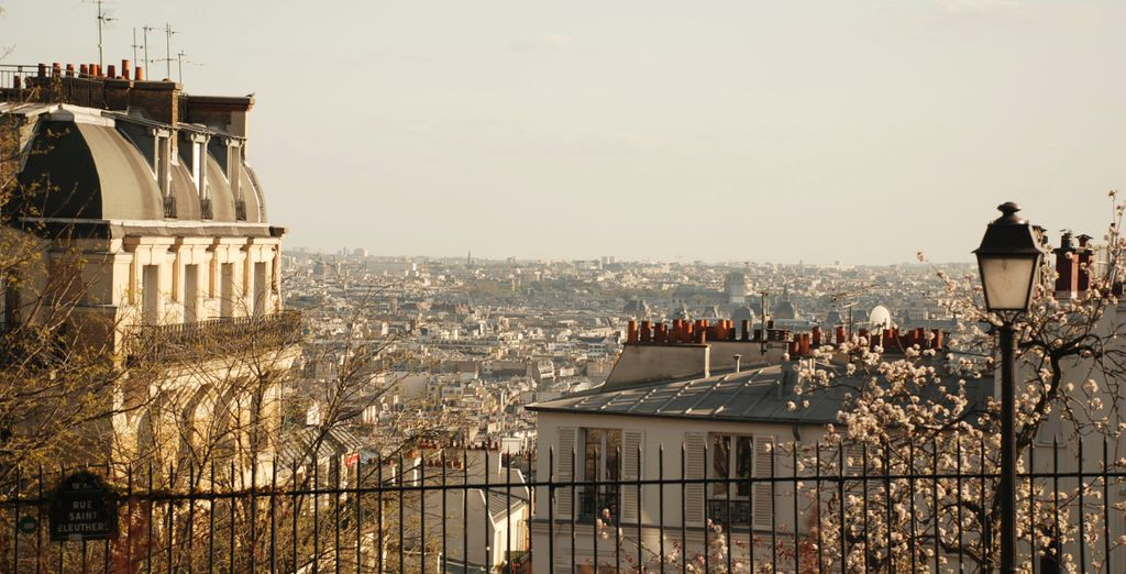 And take in the magnificent views of the City of Love!