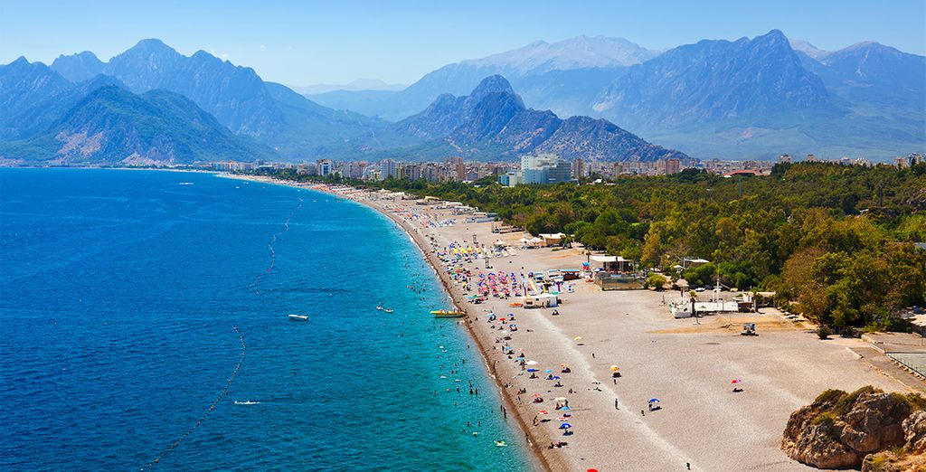 Beautiful beaches of Antalya