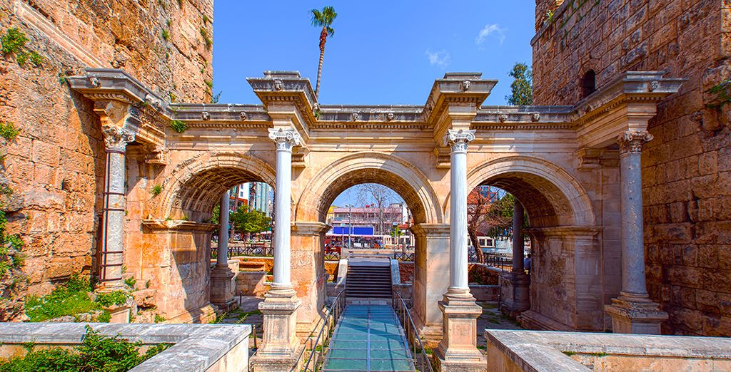 Historic monuments of Antalya