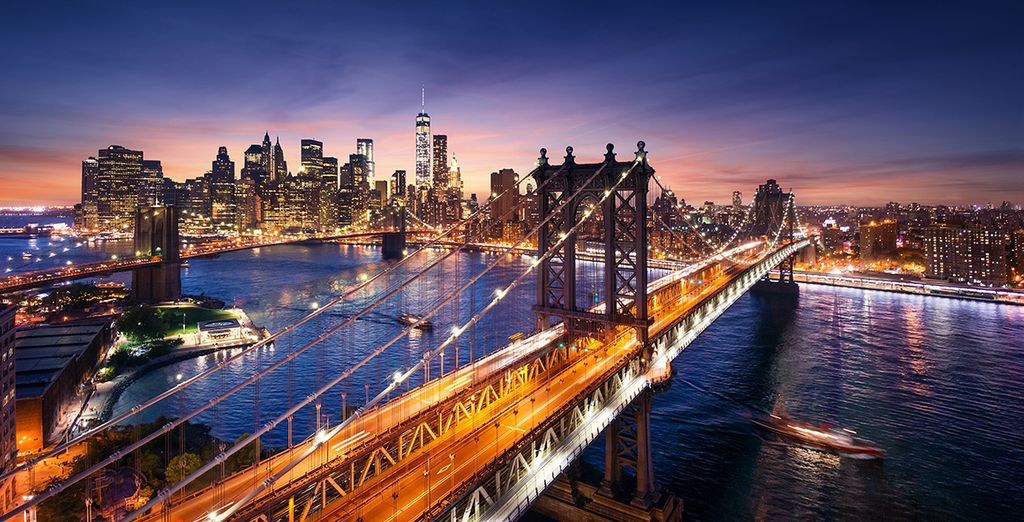 Explore New York for your next holidays with Voyage Privé
